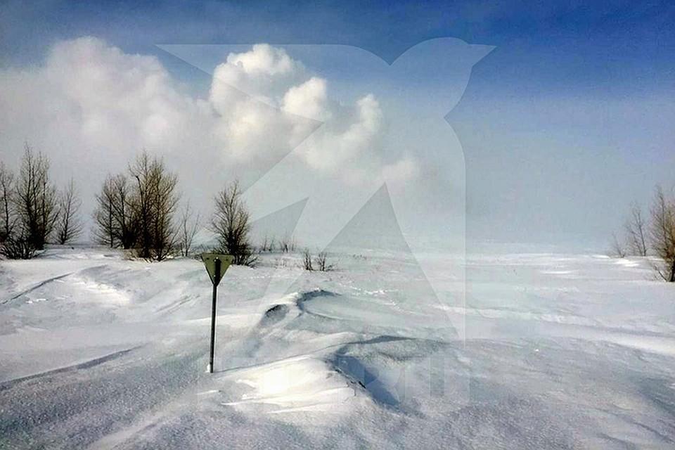 Взрыв произошел на газопроводе в Оренбургской области. Фото предоставлено КП очевидцем