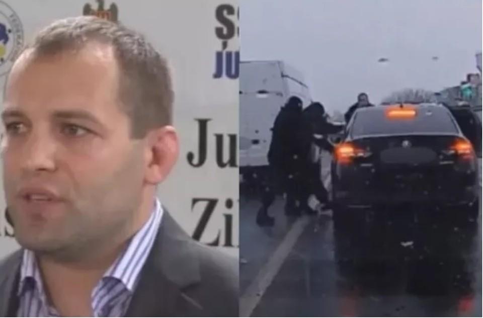 Директор спортивной школы дзюдо Дорин Гынку был задержан (Фото: safenews.md).