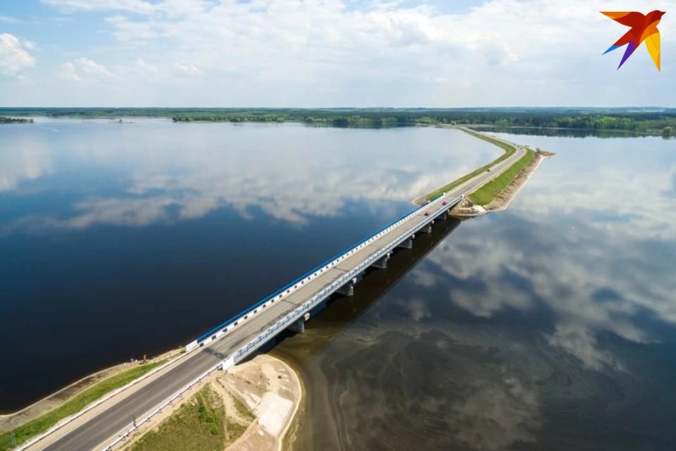 Вилейское водохранилище снабжает водой треть Минска.