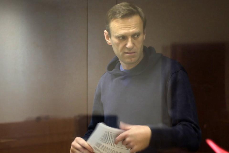 """Amnesty International перестанет называть Навального """"узником совести"""". Фото: ПС Бабушкинского суда/ТАСС."""