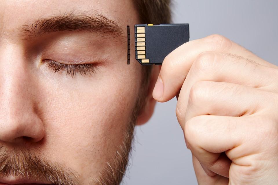 Человеческая память сложнее компьютерной.