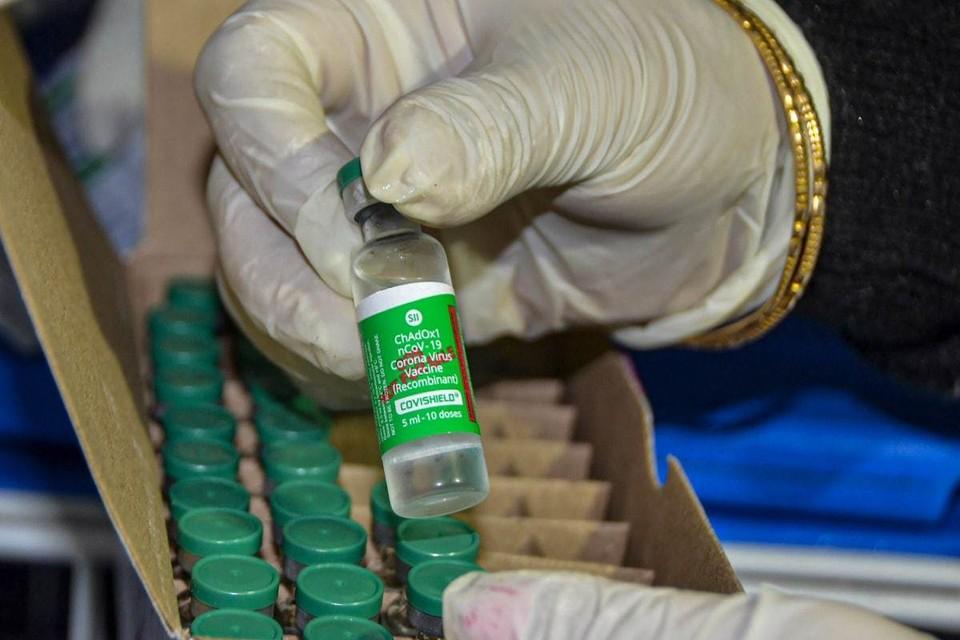 Вчера в Украину прибыли 500 000 доз вакцины COVISHIELD. Фото: соцсети