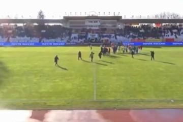 Футбольный матч в Северной Осетии закончился массовой дракой