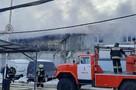 В Пензе на улице Калинина загорелось административное здание