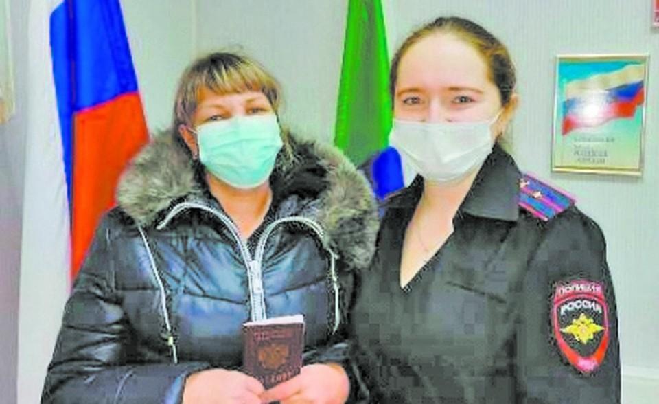 Свой паспорт Анна восстановила с помощью хабаровских полицейских