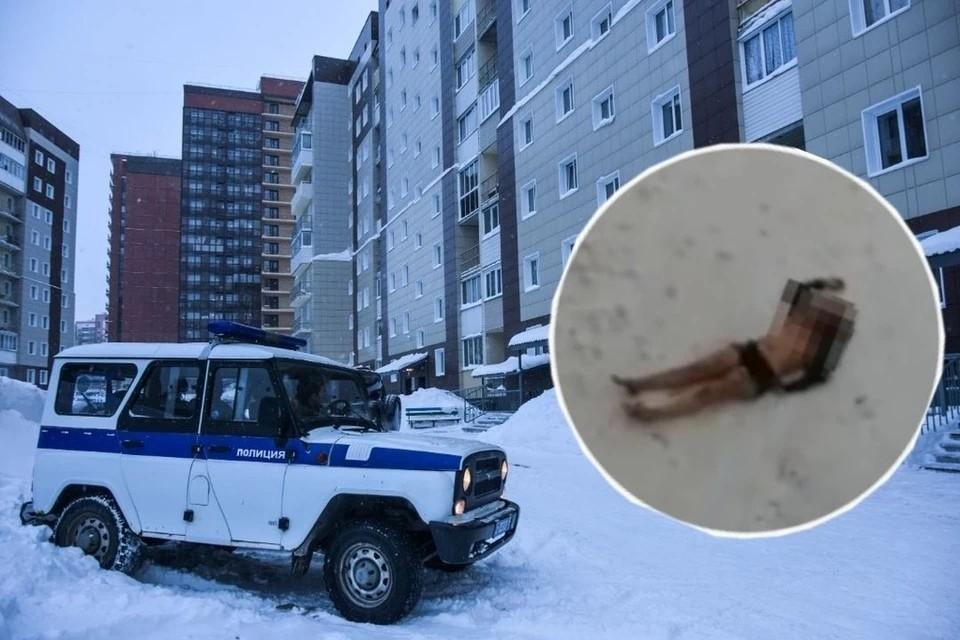 Сибирячку нашли под окнами ее дома.