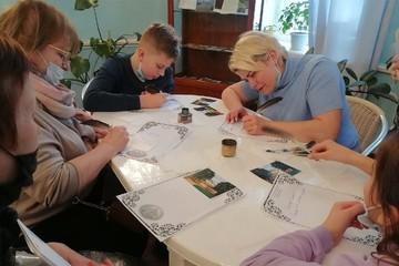 Московские туристы отправляли открытки из брянского Овстуга