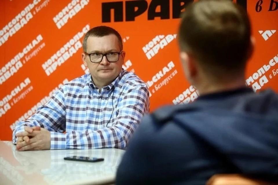 Юрий Воскресенский – участник заседания.