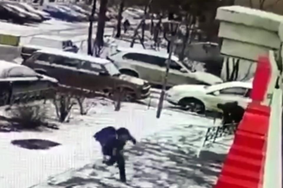 Доказательством убийства станет видеозапись с камер, установленных на фасаде жилого дома