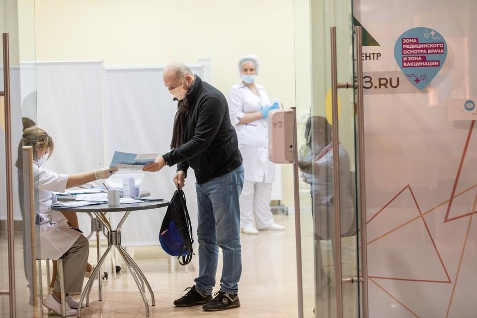 В торговых центрах республики откроются мобильные пункты вакцинации