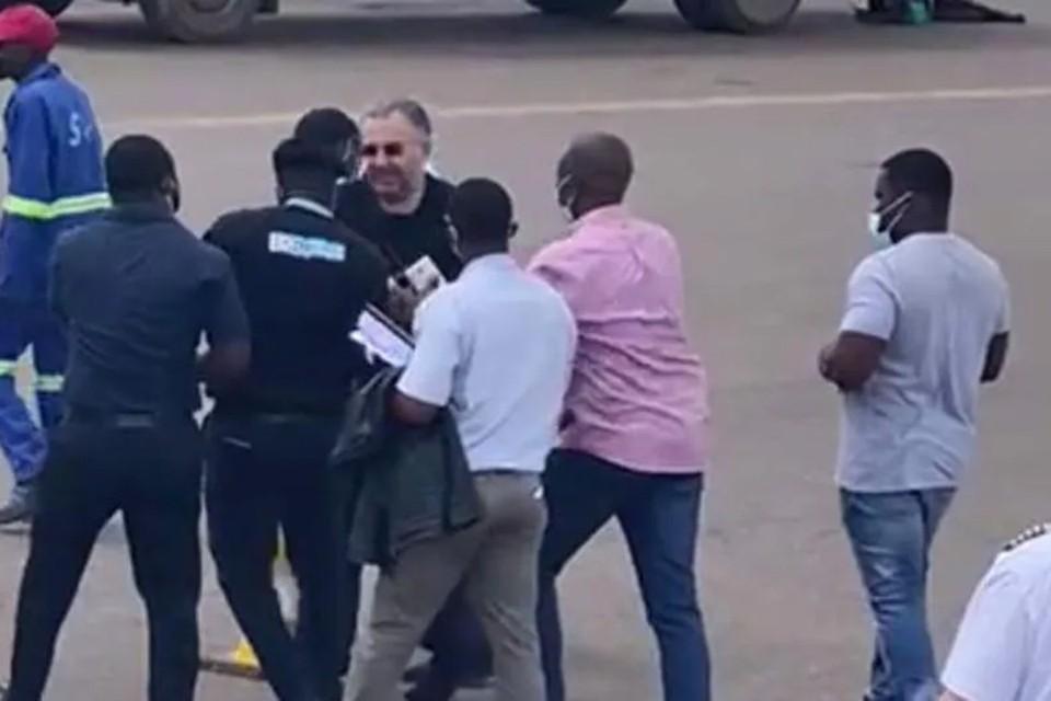 Момент ареста бизнесменов. Фото: ilsole24ore.com
