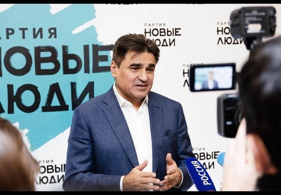 """Алексей Нечаев - лидер партии """"Новые люди"""""""