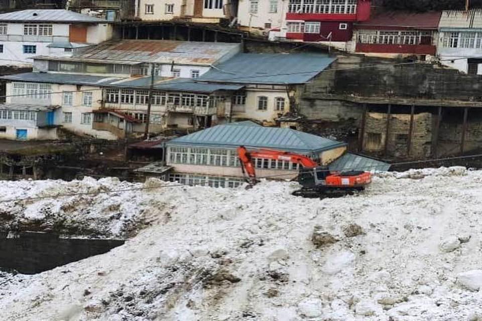 В горных районах Дагестана повышенная лавиноопасность Фото: Минтранс РД