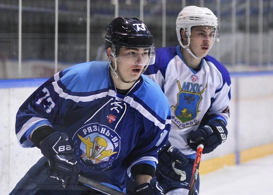 Сегодня в Рязани команды проводят второй матч в рамках серии. Фото mhkbel.beluo31.ru.