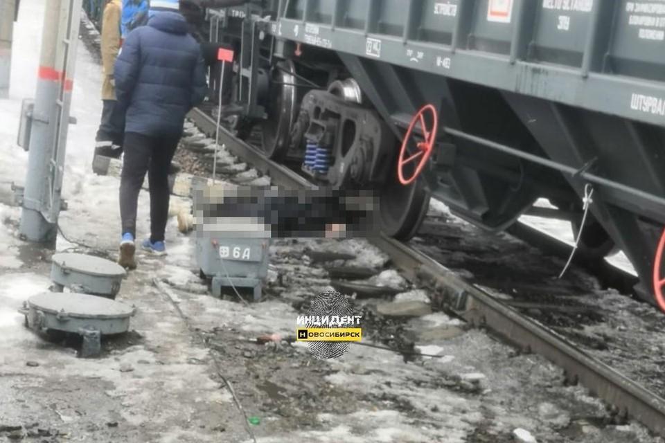 Сибирячка погибла под колесами поезда. Фото: vk.com/incident_nsk