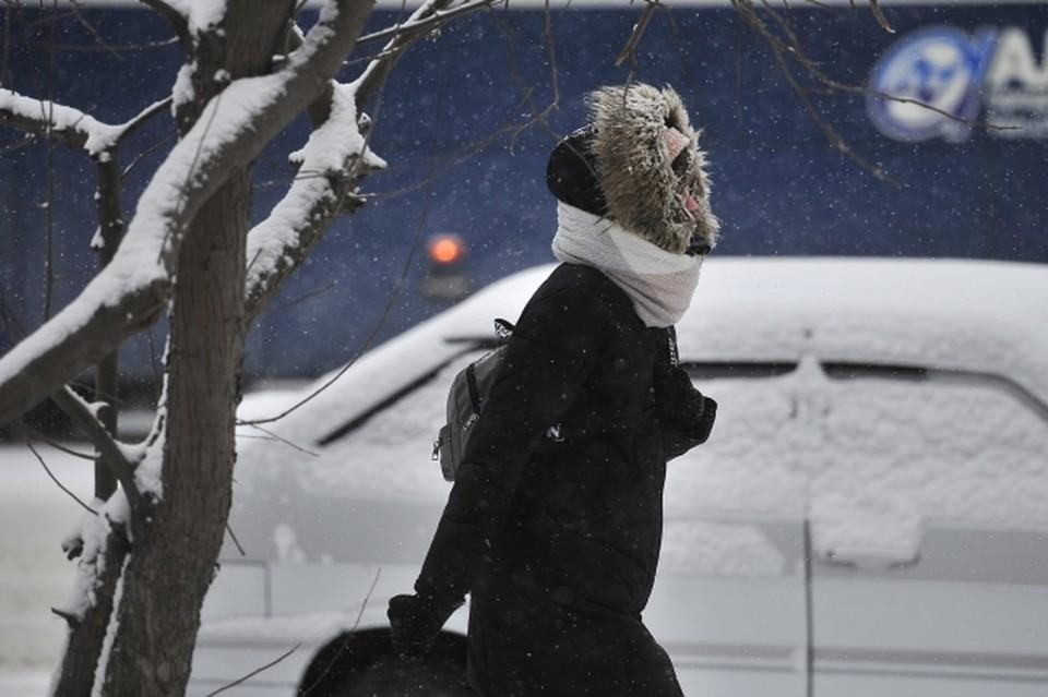 В Омске ночью ожидаются сильных заморозки.