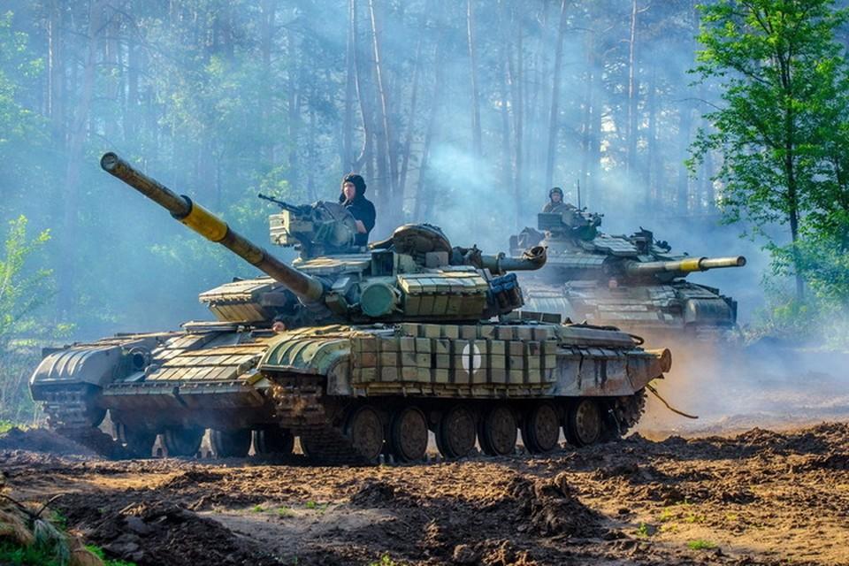 Сейчас в ВСУ в Донбассе достаточно войск и техники для серьезных ударов. Фото: Пресс-центр штаба ООС