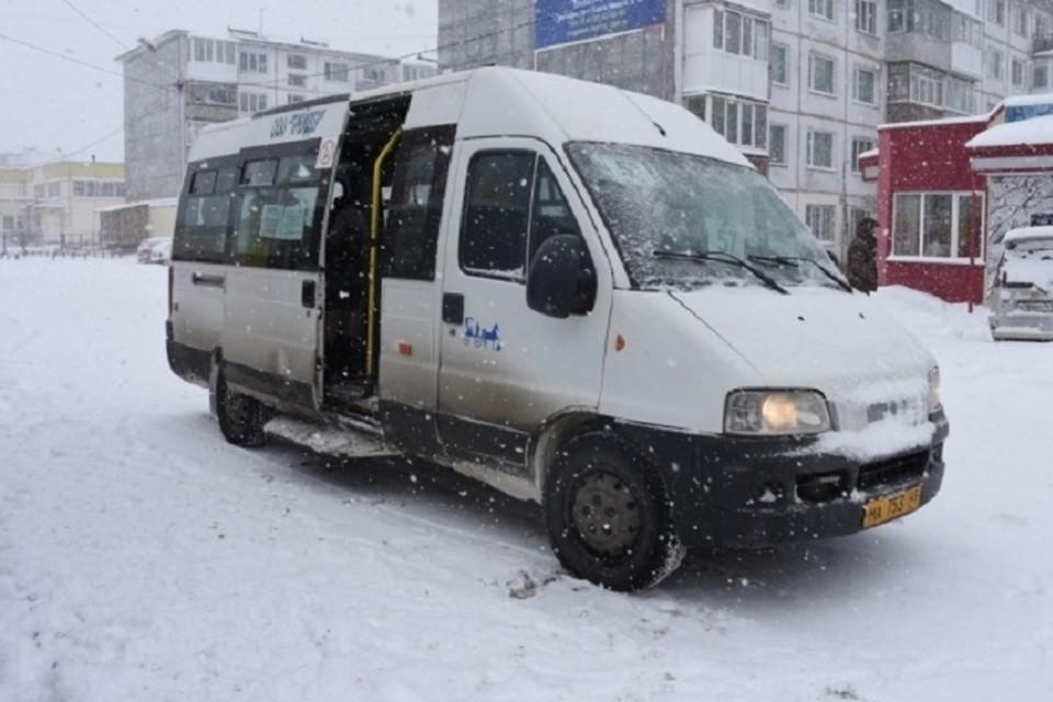 Из-за метели и снегопада жителей Магадана просят оставаться дома