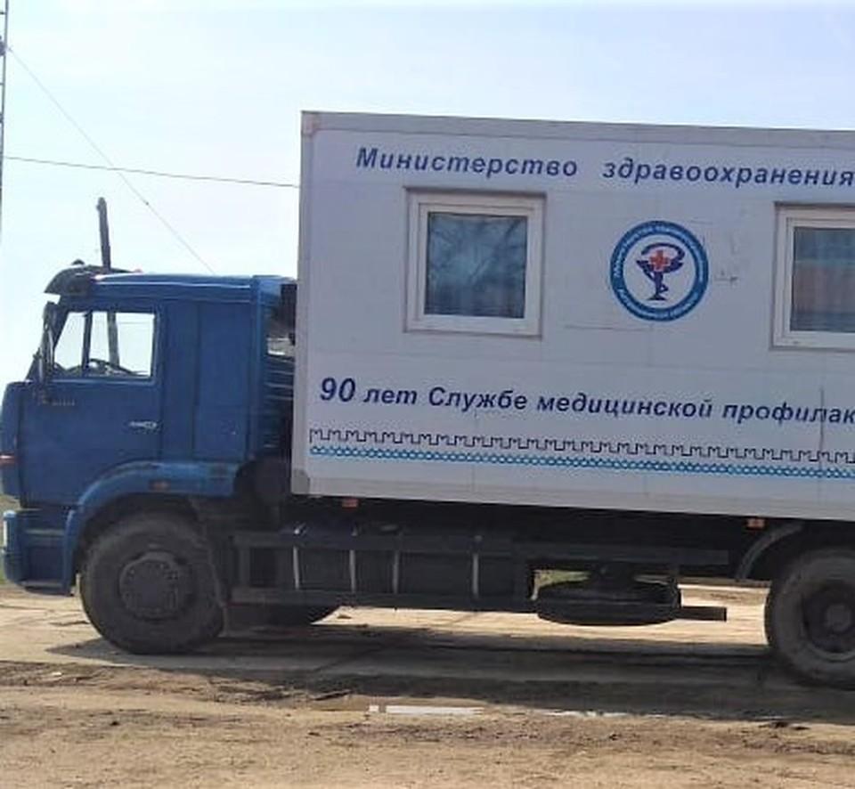 Мобильная поликлиника от Центра медпрофилактики начнёт курсировать по сёлам Астраханской области