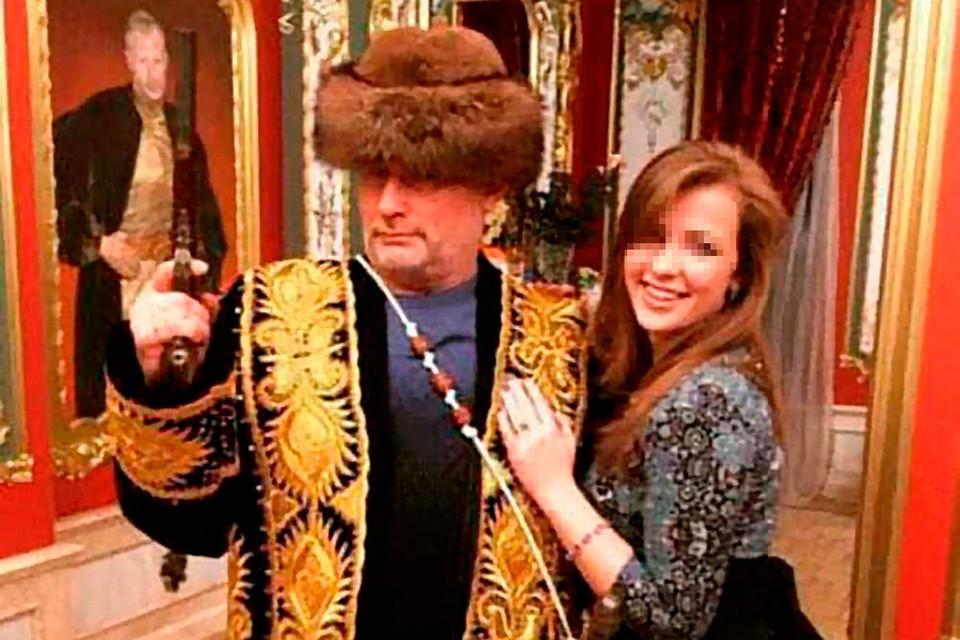 Владимир Барданов с дочерью