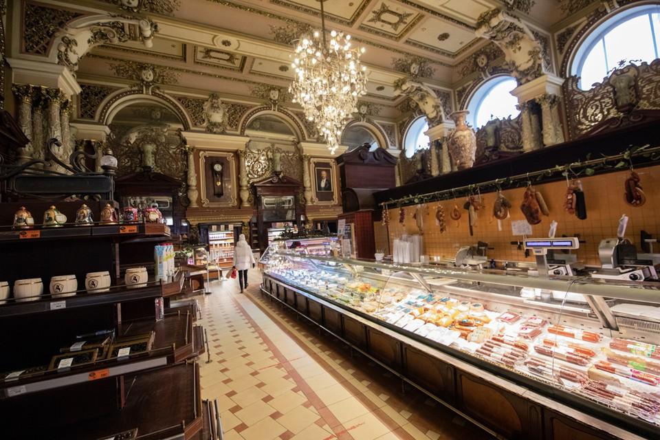 Московское правительство намерено сохранить магазин «Елисеевский».