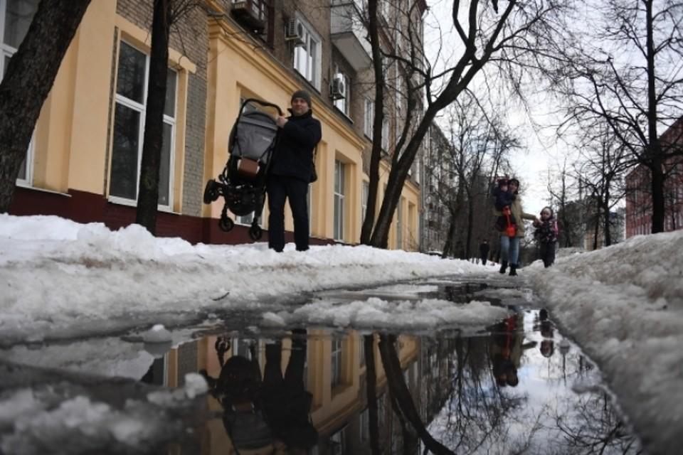 В первые апрельские дни в Кузбассе будет тепло и сыро