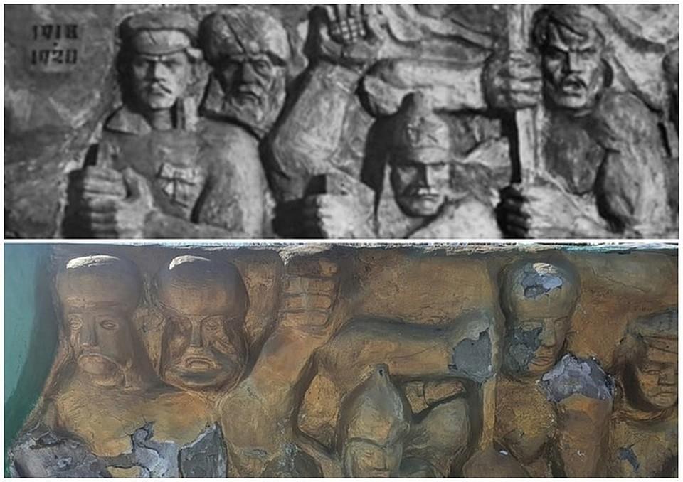 Памятник ежегодно подкрашивают к 9 мая. Фото: [ТК] ТИПИЧНЫЙ КАТАЙСК/vk.com