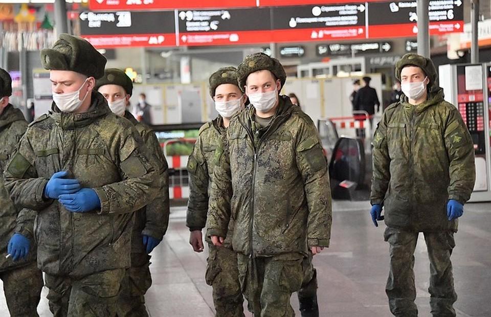 В Минобороны оценили вероятность освобождения от службы в армии при коронавирусе