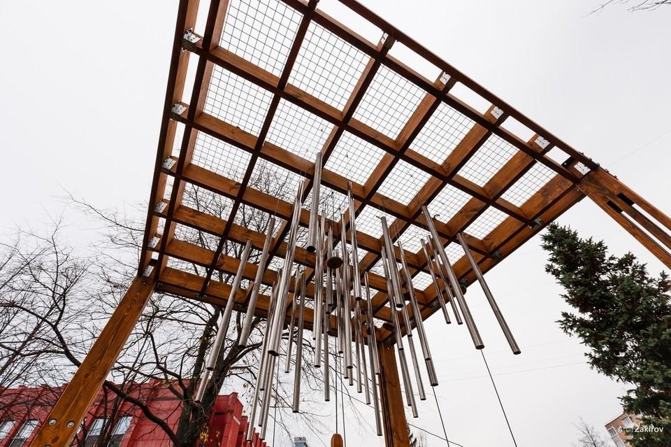 1 апреля сквер «Открытый сад» в Ижевске передали городу Фото: https://vk.com/ostrova.group