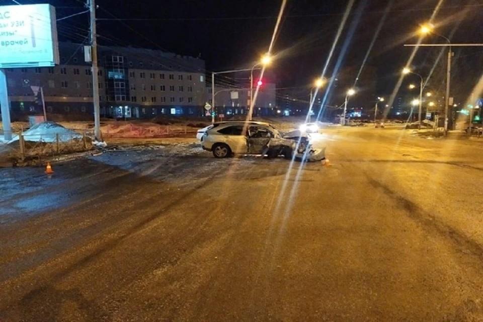 Появилось видео с предполагаемым виновником смертельного ДТП с «Лексусом» в Новосибирске.