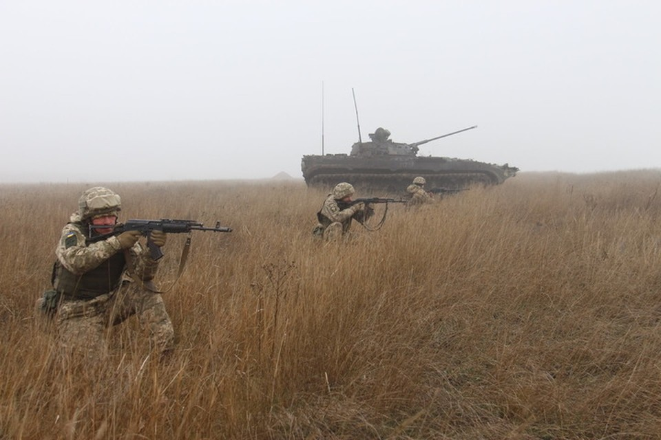 Украинские военные почти ежедневно подрываются на своих минах. Фото: Пресс-центр штаба ООС