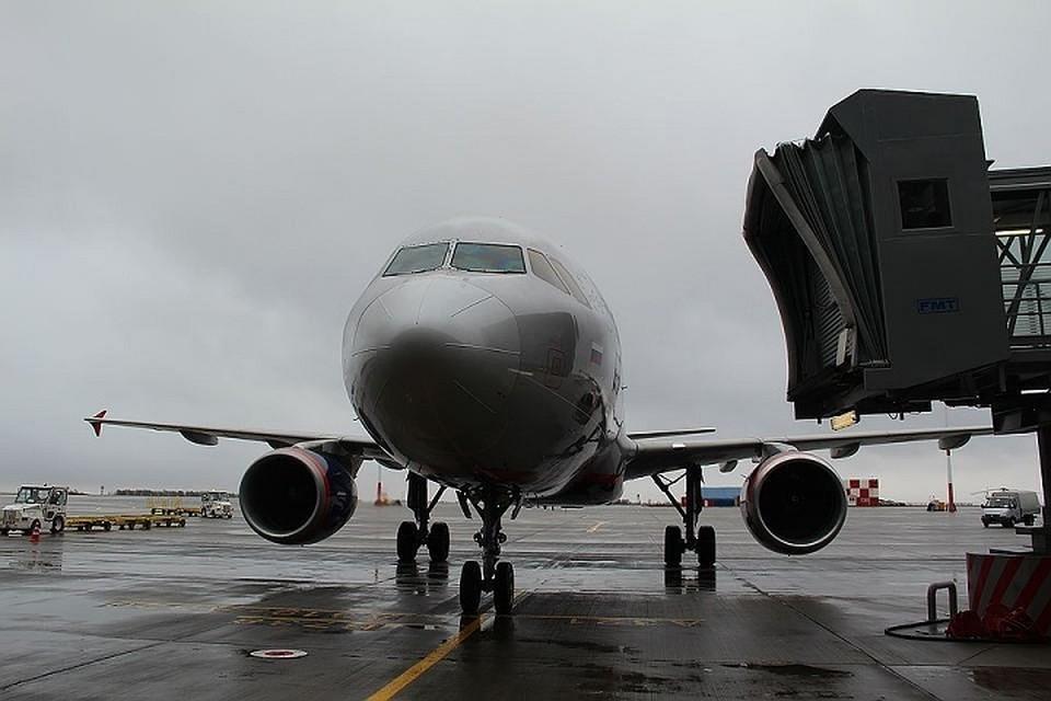 После госпитализации женщины, самолет был готов снова отправиться по своему маршруту.