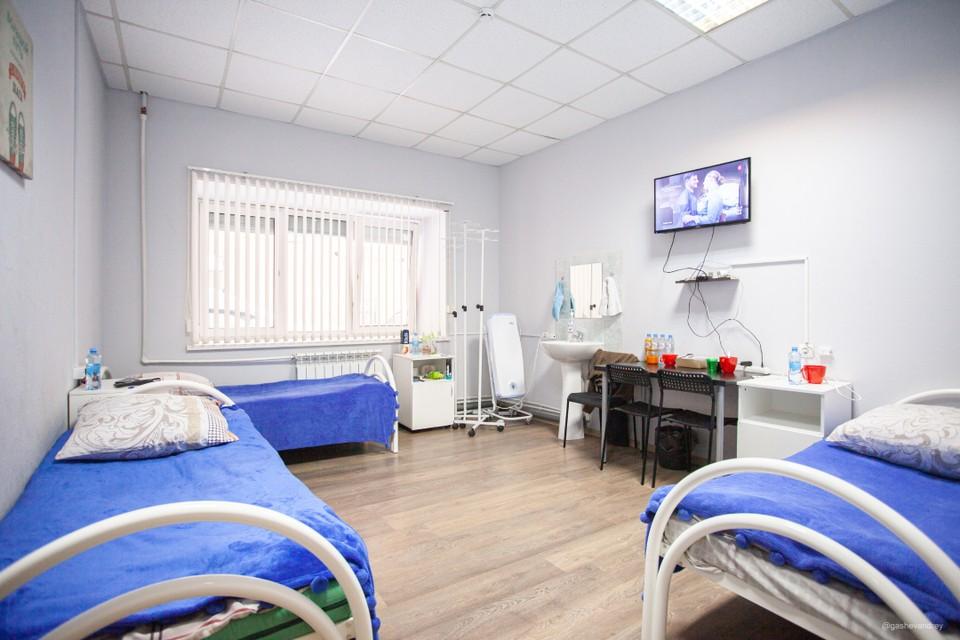 Процесс лечения должен быть комфортным. Одна из палат «Клиники доктора Лазарева».