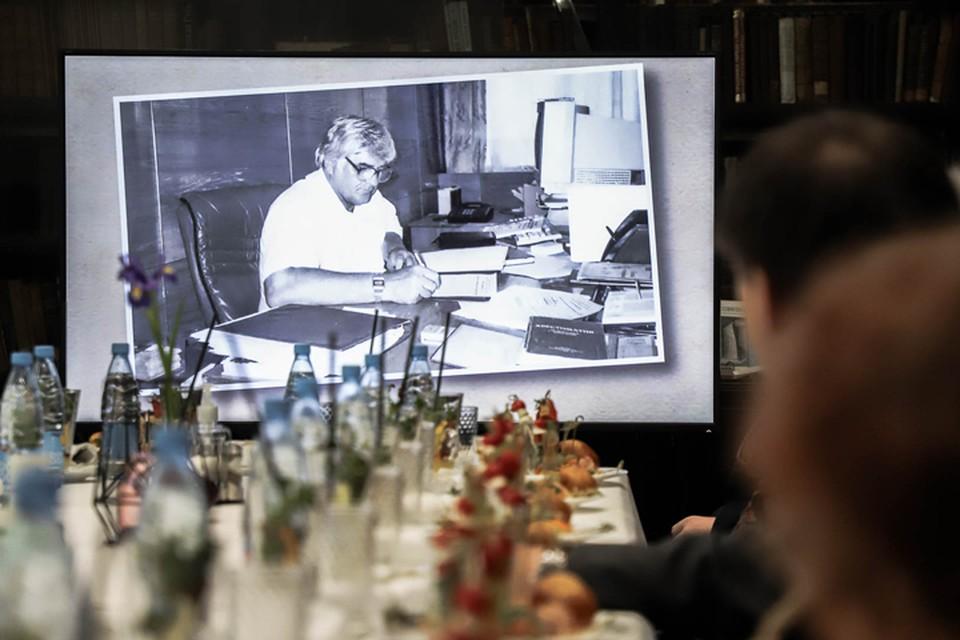 В Мининском университете прошла церемония открытия аудитории имени Виктора Андреевича Глуздова. Фото: НГПУ имени Минина
