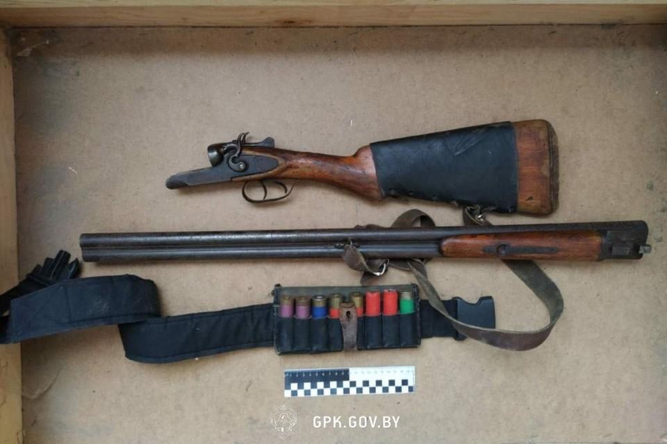В Поставах задержали троих контрабандистов с оружием. Фото: ГПК
