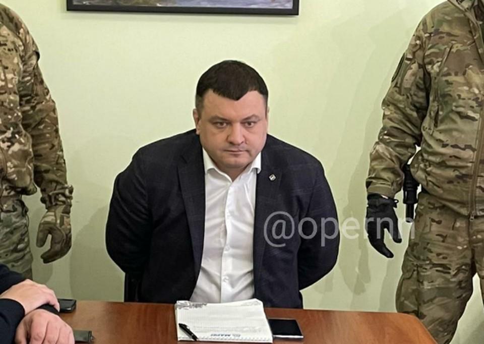 """Видео задержания Алексея Ежкова появилось в сети. ФОТО: """"Опер пишет"""""""