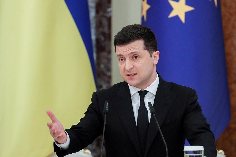 Президент Зеленский наконец-то сформулировал свое представление об окончании гражданской войны на востоке Украины: путь к миру в Донбассе — вступление в НАТО.