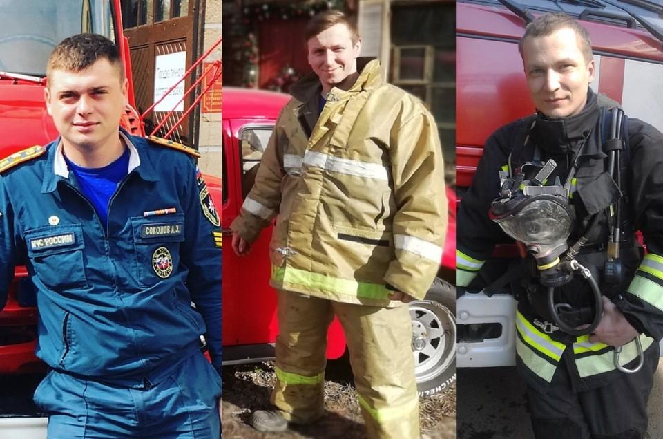 Герои: Антон Соколов, Илья Белецкий и Борис Старковский (слева-направо)