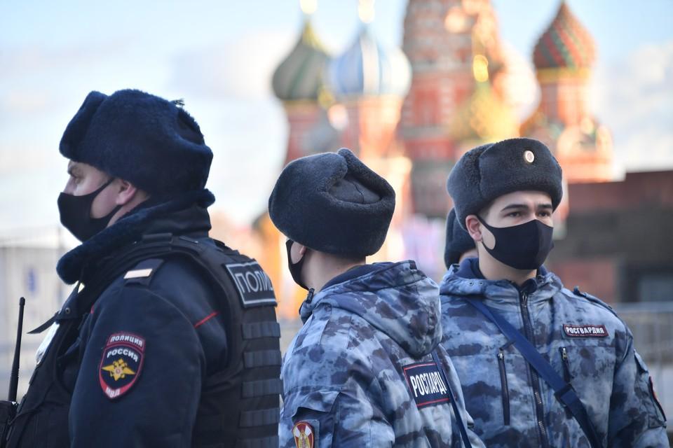 МВД призвало россиян не участвовать в несанкционированных акциях