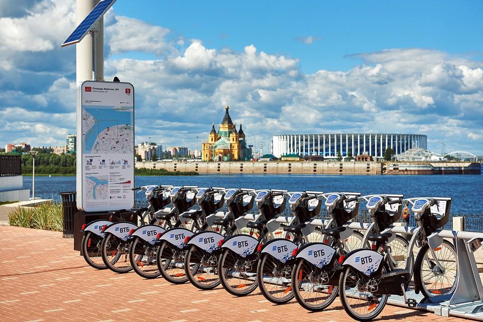 В Нижнем Новгороде открылся новый сезон велопроката «Велобайк». Фото: предоставлено КП