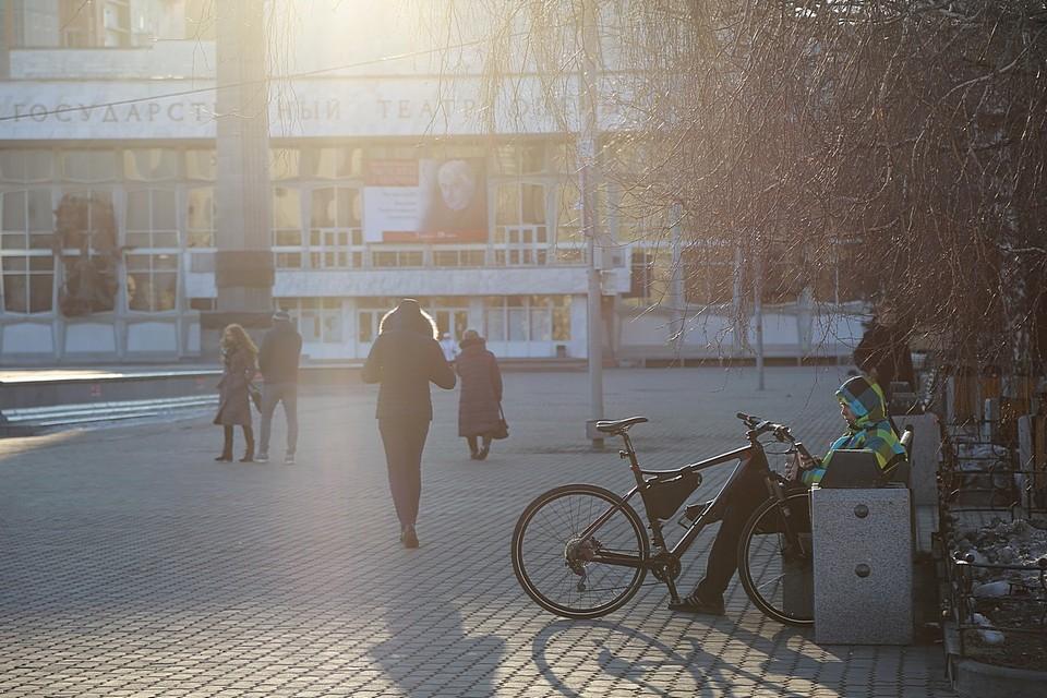 Погода в Красноярске на 21 апреля 2021: ожидается потепление до +3 градусов и осадки