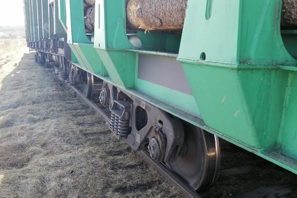 Инцидент случился 20 апреля в 7.17 на путях необщего пользования. Фото: Кировская транспортная прокуратура