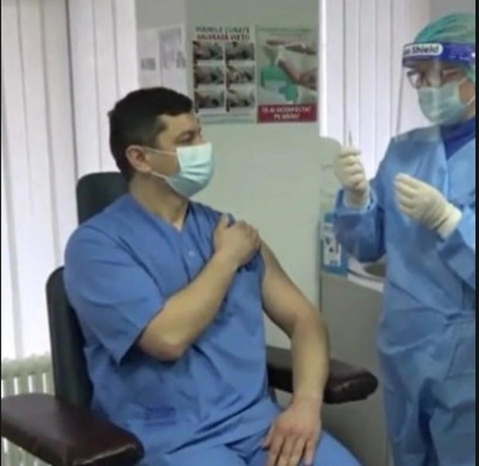 Вакцинация в Молдове идет медленно.