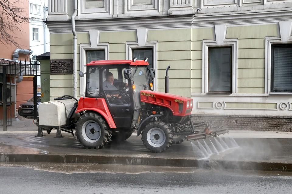Санкции будут применять к подрядчикам за ненадлежащую уборку улиц Нижнего Новгорода