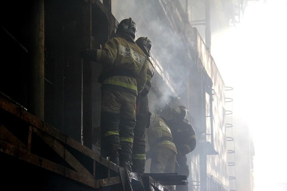На судостроительном заводе в Хабаровске произошел пожар