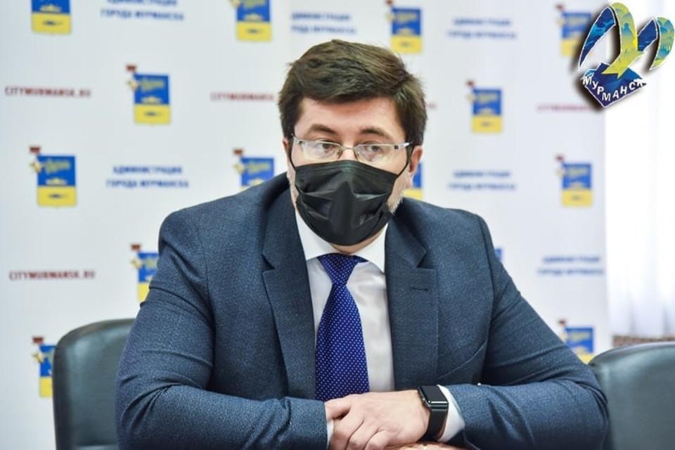 Евгений Никора в прямом эфире ответит на вопросы северян. Фото: администрация Мурманска
