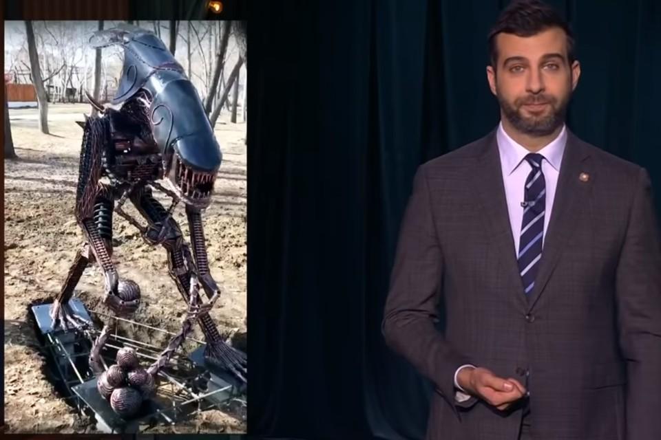 Фото: скрин с видео «Вечерний Ургант» / youtube.com