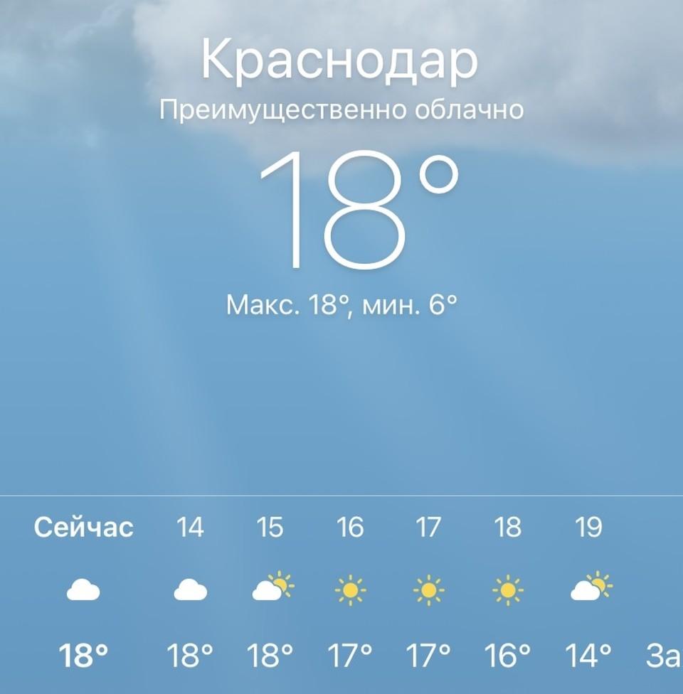Затем с воскресенья по понедельник снова пройдут дожди
