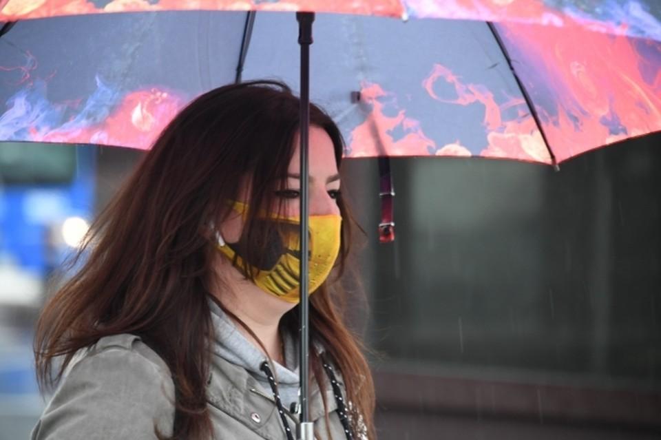 22 апреля перед выходом на улицу нужно не забыть прихватить с собой зонт