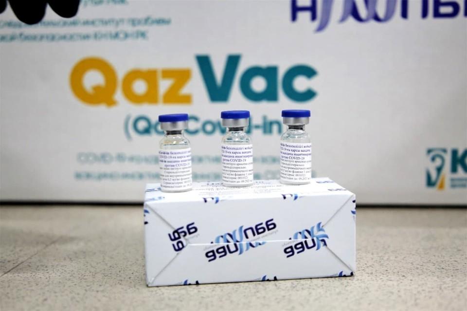 Первые 50 тысяч доз QazVac отправились в регионы. Фото МВК